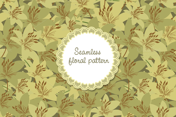 Floral Pattern Seamless