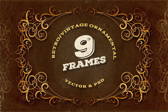 9 Ornamental Frames