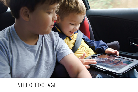 Boys With Tablet Computer During