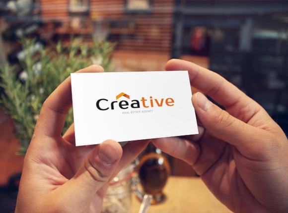Creative Modern 2 Color Card
