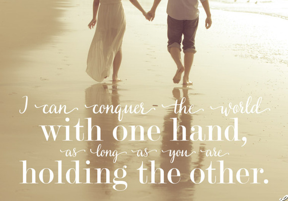 Vector Word Overlay Love Quote