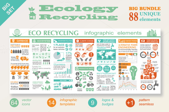 Ecology Recycling Big Bundle