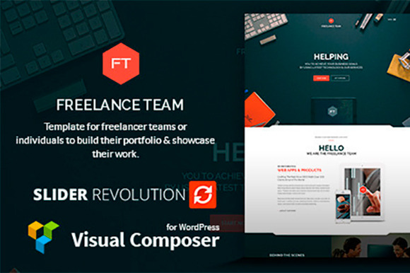 Freelance Team Portfolio Shop