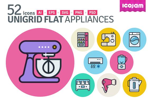 UniGrid Flat Appliances