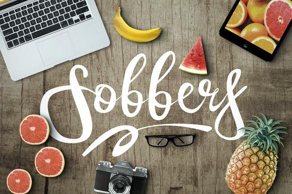Sobbers Typeface