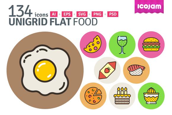 UniGrid Flat Food