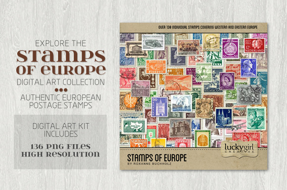 Stamps Of Europe