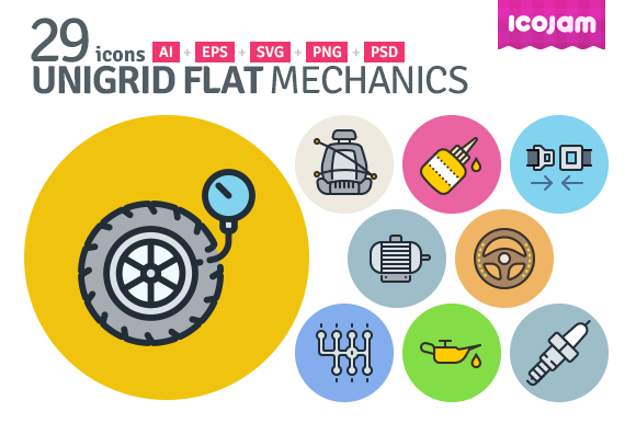 UniGrid Flat Mechanics