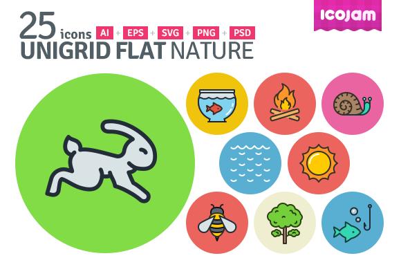 UniGrid Flat Nature