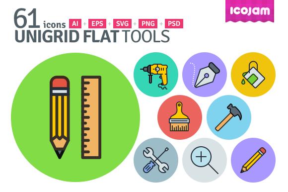 UniGrid Flat Tools