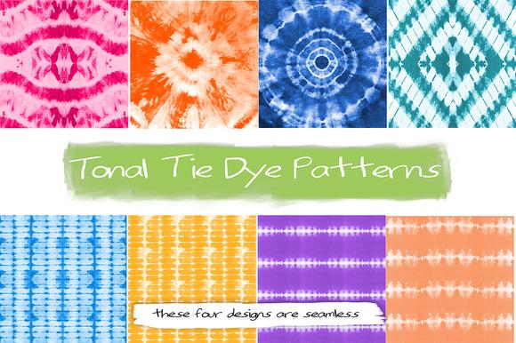 Handmade Tonal Tie Dye Designs