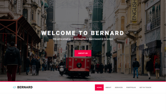 Bernard Creative Agency Template