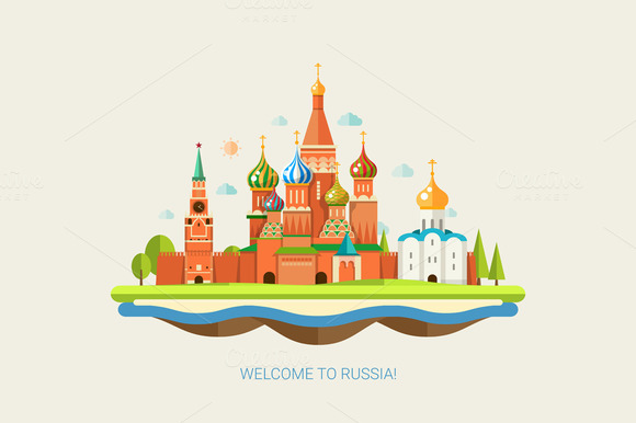 St Basil S Cathedral Illustration