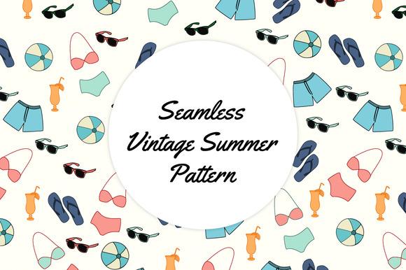 Vintage Summer Pattern