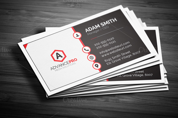 Creative Corporate Business Card 57