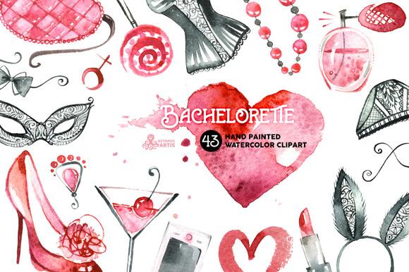 Bachelorette Watercolor