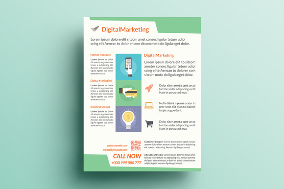 Creative Marketing Flyer V6