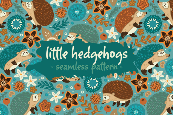 Little Hedgehogs Pattern