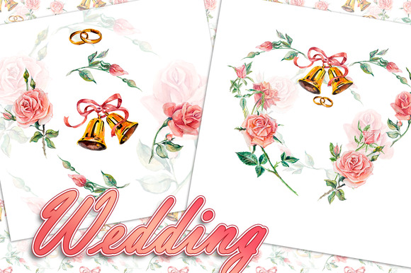 Wedding Roses And Bells