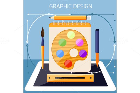 Graphic Design And Designer Tools