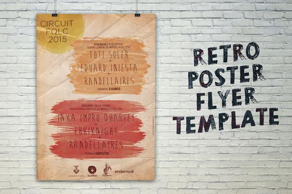 Poster Flyer Folk Template