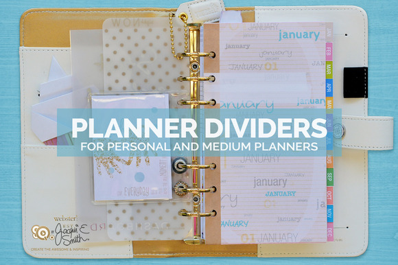 Planner Months Planner Dividers