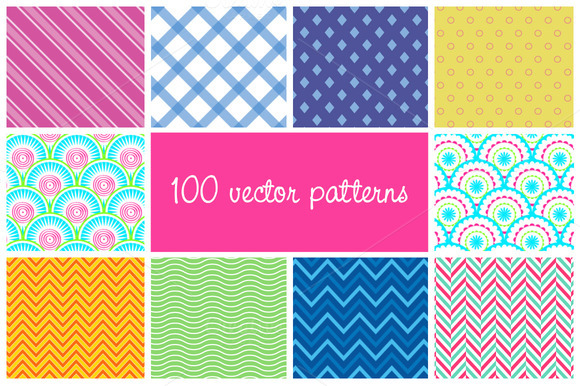 100 Vector Patterns