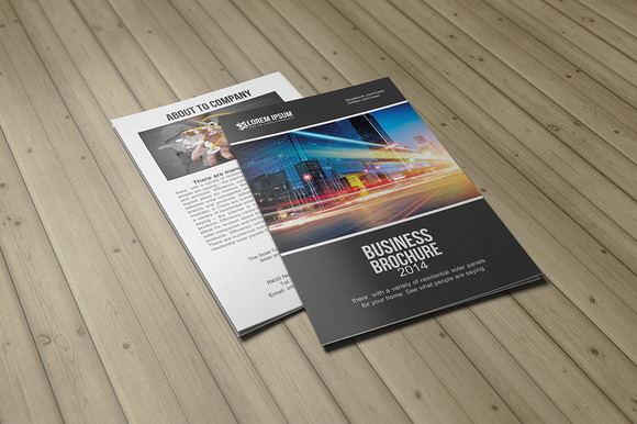 Bifold Brochure Template Vol 02