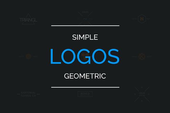 10 Simple Geometric Logos