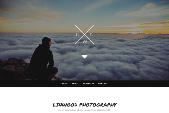 Linwood Photography Template
