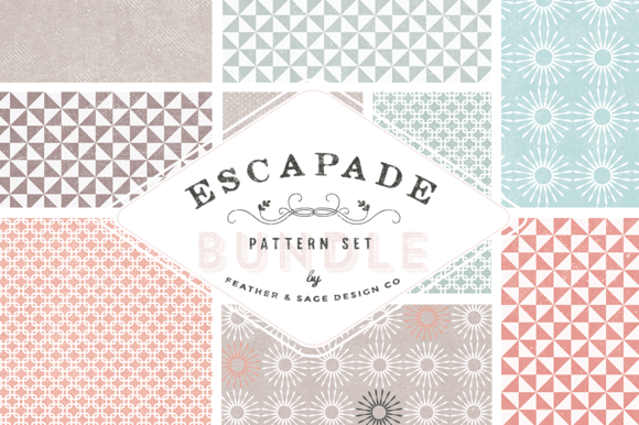 Escapade Pattern Bundle