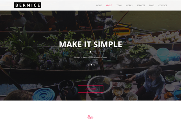 Bernice Business Template