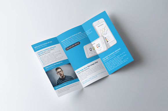 Trifold Corporate Business Brochure