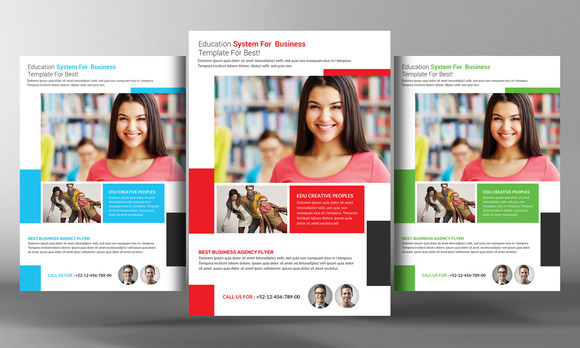 College Education Flyer Template