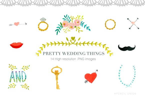 Pretty Wedding Things