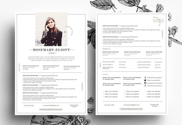 Custom CV Business Card Template