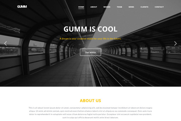 Gumm Business Template