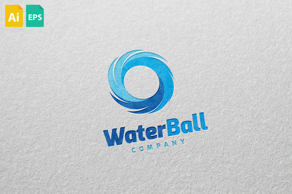 Water Ball Logo