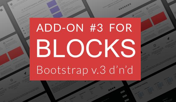 Bootstrap BLOCKS Add-on 3
