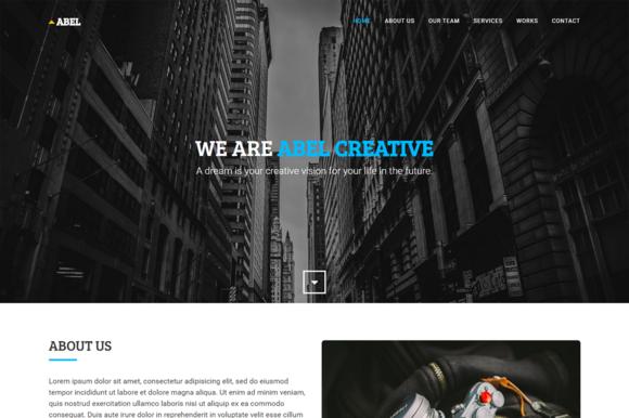 Abel Agency Portfolio Template