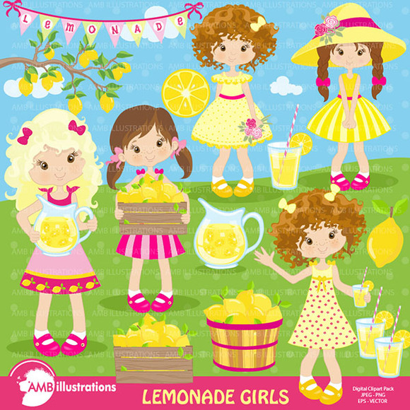Lemonade Stand Clipart 890