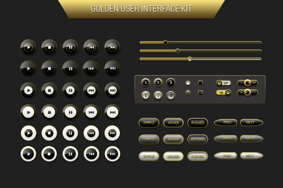 Golden User Interface Kit