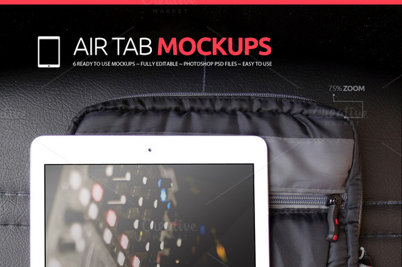 Air Tab Mockups