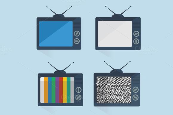 Tv Flat Design