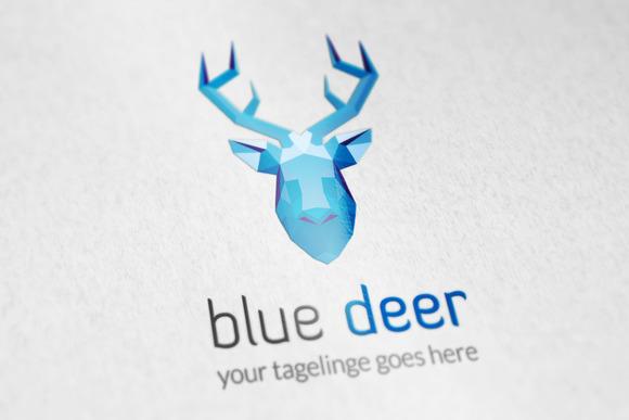Blue Deer Logo