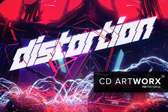 20 PSD CD Artworks