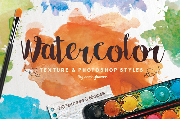 Watercolor Texture Styles