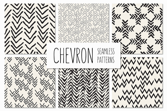 Chevron Seamless Patterns Set V.2