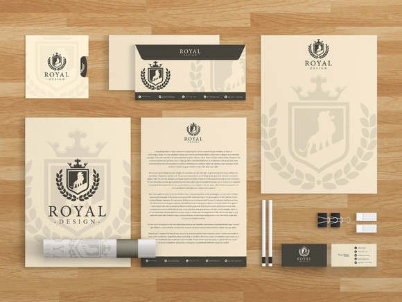 Royal Design Brand Identity Template