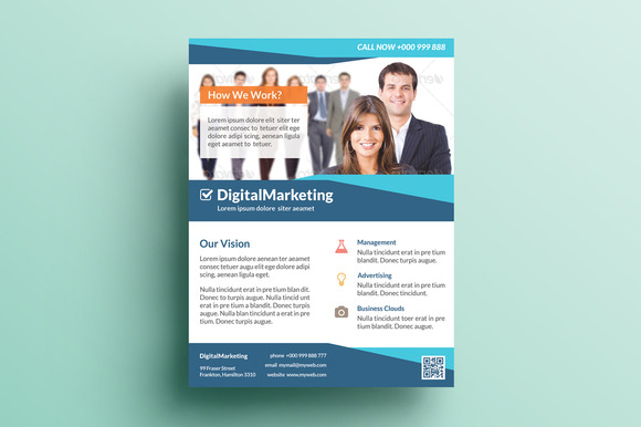 Creative Marketing Flyer V4